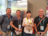 Meet old customers from BingYe Wire Mesh Products Co.,Ltd in the Canton Fair