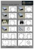 Vertical blind aluminium track