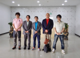 Japanese customers visit our factory