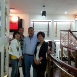 Australia client visit our show room