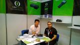 Customers visit our company booth on Dubai Fair