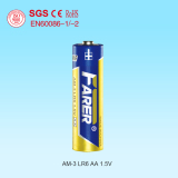 1.5V Farer Super Alkaline Dry Cell Battery (Lr6 AA, Am-3)