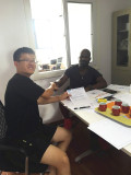 Cooperation with Malawi customer