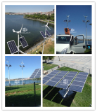 8m 60w wind solar hybrid street light applied in Turkey