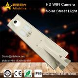 30w & 40w all in one solar street light with wifi cctv camera