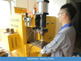 B:the production workshop and installation equipment for thyristor and diode