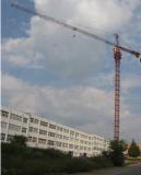 hongda create one new type 70m 10 ton free stand tower crane