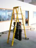 Loading test of fiberglass a-shape ladder