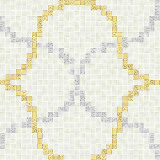 Art Mosaic Pattern-Liasons Bianco