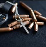 Brass material made Army special bullets dog tag