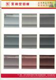 yonglijian Fluorine carbon spraying aluminum extrusion color chart