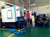 Our Factory Staff Adjust CNC WALTER Milling Machine