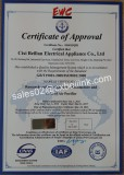 ISO9000 certification from EMC