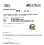 The supplier′s company premises has been checked by SGS