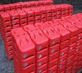 Hot Sale Red Moulded Plastic Concrete Temporary Fence Feet