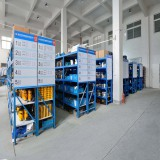 Parts warehouse of Wellnit Company