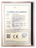 CE Cerficate of wire tester