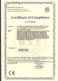 S2000 Series Certificates
