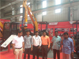 SANY India′s plant welcomes customers from Bangalore