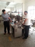 Taiwan biotech visit our factory
