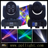 newest item:4pcs 15w led moving head beam light with lens rotate
