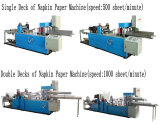 Automatic Folding and Printing Napkin Paper Machine