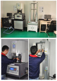 Rheometer testing of batch compound mixing