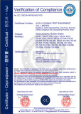 CE Certification of Electro Dynamic Vibration Shaker