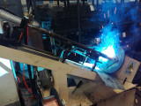 Automatic welding zone