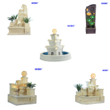 Garden & Home Decoration Led Light Water Fountain
