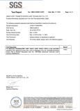 NON PPVC heat transfer printing SGS certificate