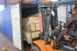 Shearing machine delivery
