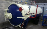 1650x4000mm Rubber Vulcanization Autoclave to France in 2013