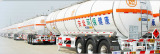CIMC Stainless Steel Insulation Liquid Tank Trailer