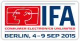 Visit us---Hall 26,Booth no.:469, Sep.4-9,2015 IFA BERLIN