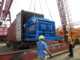 HZS50 concrete batch plant was shipped to Pakistan in July 2017