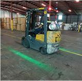 Did you encounter the following confusion when using a forklift?