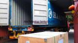 Angola customers machine loading