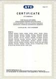 RoHS Certificate P2.2