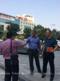 Iran customer visit the factory