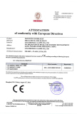 CE certificate of Floodlight