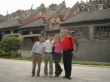 Guangzhou Chenjiaci Ancestral Hall- Clients from Czech Republic