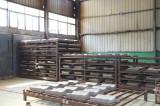 Steel ingot riser insulation board production line