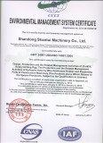 ENVIROMENTAL MANAGEMENT CERTIFICATE