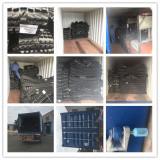 Loading Rubber Tracks full 20′ft container to Shanghai port