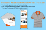 Promotion Assistance to MVTEAM Brand Franchiser