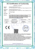 CE-LVD approval for our LED power supply