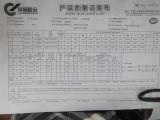 steel inspection certificate