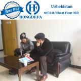 Uzbekistan client 60t wheat mill