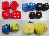 Decorative&Promotional Plush Stuffed Dices